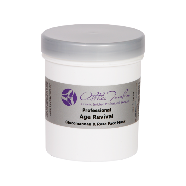 A natural antiaging face treatment mask with hydrating DMAE, MSM