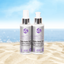 Jojoba aftersun spray lotion & aftersun body cream set