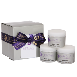 Chocolate Skincare Pamper Trio Gift Set