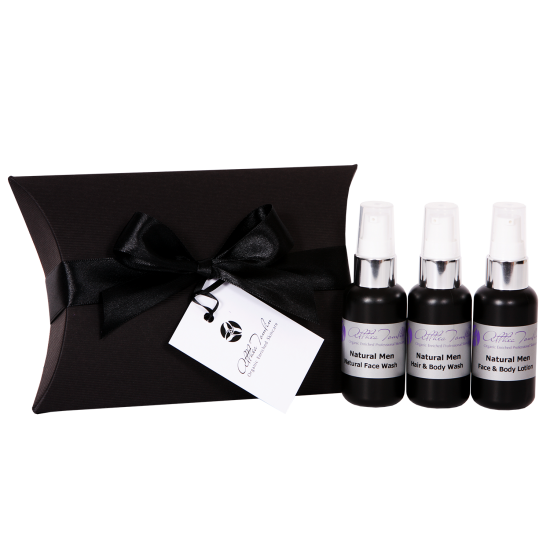 Men's Skincare 3 in 1 Travel/ Gift Set
