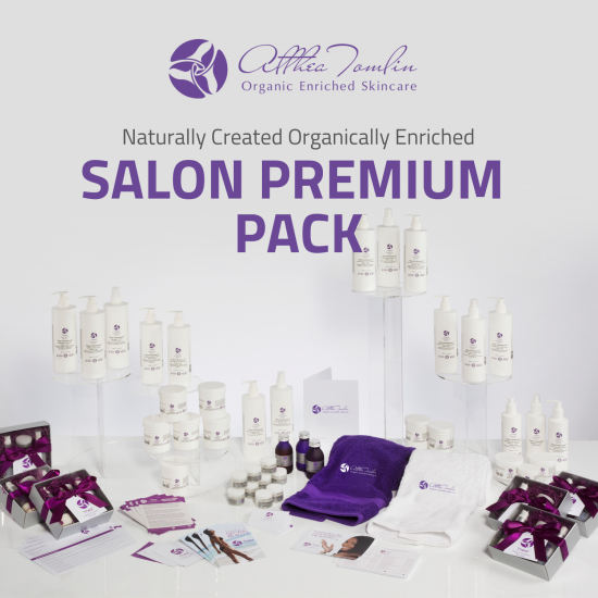 Busy Salon Organic Facial Premium Package (with retail lines)